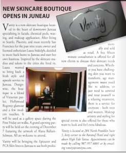 Article in December 2012's issue of Southeast Living Magazine.