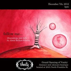 Vanity Opening Flyer