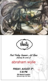 Summer First Friday Featuring Abraham Wylie